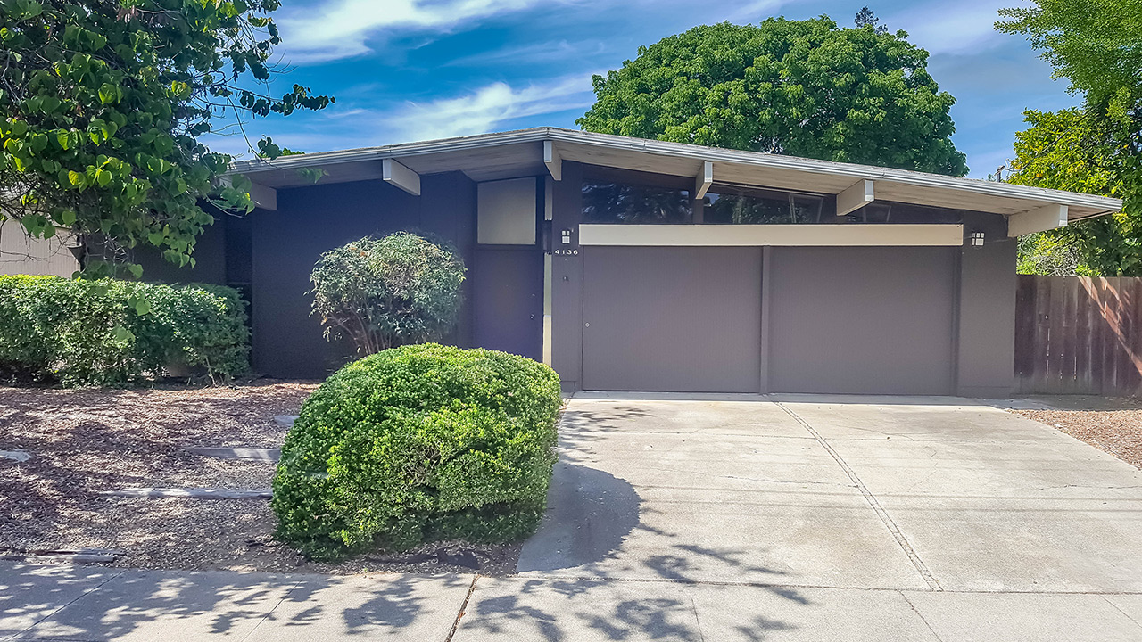 4136 Sacramento St Concord Ca 94521 Eichler Home For Sale